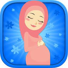 Image result for pakaian ibu hamil muslimah kartun