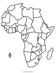 Kleurplaat Continent Afrika Az Ausmalbilder