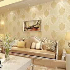 Wallpaper For Living Room Cream ...
