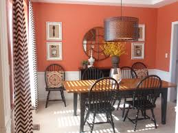 Dining Room Paint Ideas With Chair Rail Blueskyfarms - Dining room red paint ideas
