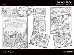 Comic Storyboards Tim Holtrop Storyboard Artist Illustrator Comic Book 21