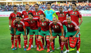 Image result for أسود المغرب لكرة القدم بالصور