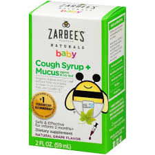 Zarbee's Naturals <b>Baby Cough Syrup</b> & Mucus Reducer Liquid ...