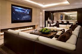 traditional living room ideas with fireplace and tv. Charming Tv Living Room Ideas Traditional With Electric Fireplace And Big Led Screen Tv.jpg P