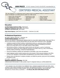 Example Of A Medical Assistant Resumes Medical Assistant Resume Templates Downloads Pin By