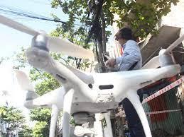 Đà Nẵng bay flycam tuần tra trên không: Chỉ mới bay thử, nhiều người đã  giật mình | Thời sự
