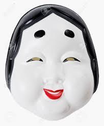 japanese for mask otafuku is legendary character japanese traditional mask for