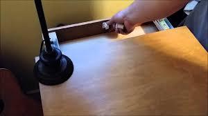 Hidden Drawer Lock Magnet Lock Type 1 Nightstand Secret Compartment Youtube