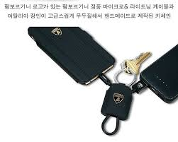 apple keychain. lamborghini ® official ultra-portable keychain style apple lightning port charging / data cable y