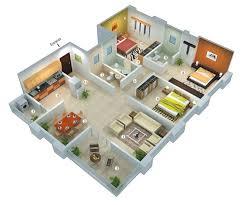 most house plan design 25 more 3 bedroom 3d floor plans building