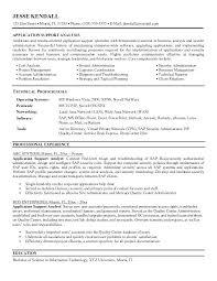 Sample Help Desk Analyst Resume It Support Resume Application Support Resume Format Support Analyst 29