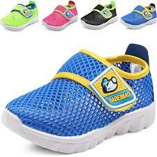 Dadawen Babys Boys Girls Breathable Mesh Running Sneakers Sandals Water Shoe Blue Us Size 7 M Toddler