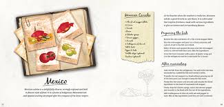 recipe book page layout