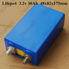 4pcs 3 2v lifepo4 battery 30ah 3 2v diy electric bike battery 12v lithium battery pack