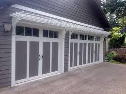 garage door arborGarage Doors  43 Impressive Garage Door Pergola Photo Design
