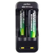 <b>Perfeo Зарядное устройство</b> U2, Ni-MH, 2 слота (PF_B4034 ...