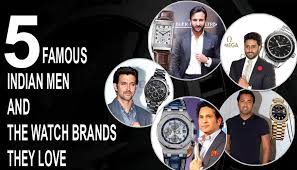 5 famous n men and the watch brands they love ·