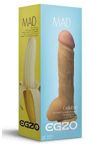 EGZO Большой <b>реалистичный фаллоимитатор</b> Mad Banana с ...