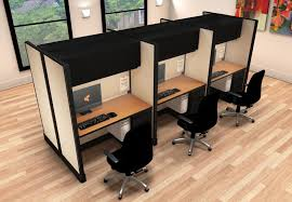 cubicle for office. 2x4 herman miller cubicles - 6 pack cluster cubicle for office