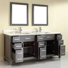 French Bathroom Sink Double Sink Bathroom Vanity Kalize 75 French Gray Finish Hand