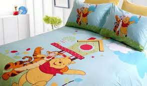 winnie the pooh cot bedding and curtains