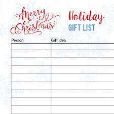 Gift Tracker Free Printable Christmas Gift Tracker The Quilters Planner