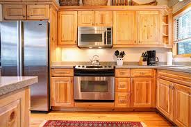 Furniture For Kitchen Cabinets Pine Kitchen Cabinets In The Useful Furniture Hupehome