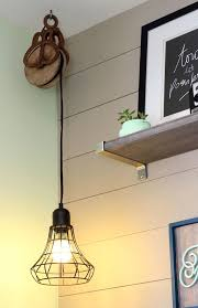 vintage lighting fixture. small home office makeover vintage lighting fixture