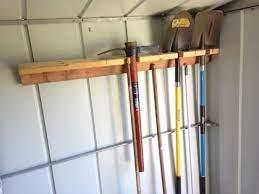 quik n dirty tool rack for garden