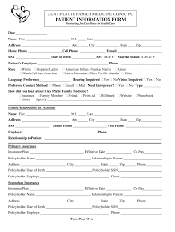 Patient Chart Pdf Fill Online Printable Fillable Blank