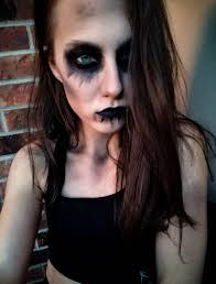dramatic scary makeup for party