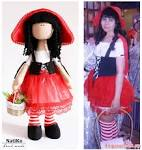 Кукла красная шапочка сшить