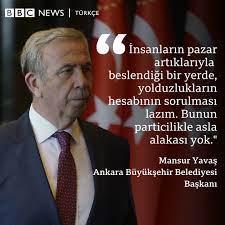 BBC News Türkçe - Mansur Yavaş'tan 'yolsuzluk' açıklaması: Savcılığa 50  dosya gitti, önümüzdeki hafta da en az 50 dosya gidiyor  https://bbc.in/3vUWQBS | Facebook