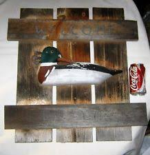 wooden ducks home d cor plaques signs ebay