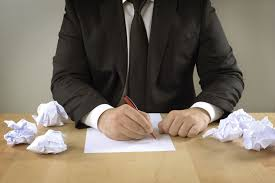 sample letter requesting a pay raise man writing letter and crumpled papers