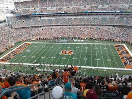 Paul Brown Stadium Section 308 Home Of Cincinnati Bengals