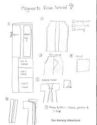 Harry Potter Robe Pattern Amazing DIY Harry Potter Costume Tutorial Our Kerrazy Adventure