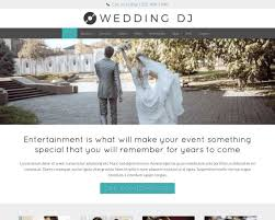 Wedding Wordpress Theme Wedding Dj Wordpress Theme Premium Wordpress Theme For Wedding Djs