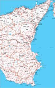 Cartina Sicilia Orientale Sicilia Nel 2019 Sicilia Mappe E