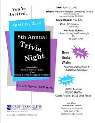 trivia night flyer templates trivia night flyer template