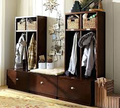 Hall Coat Rack With Storage Inspiration Hallway Coat Rack Bench Stylebyme