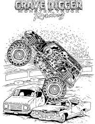 Small Picture MaxD Truck Monster Jam Coloring Pages Color Luna