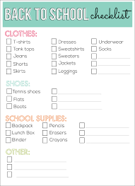 School Checklist Old Navy Multiply Your Style Back To School Pinterest School