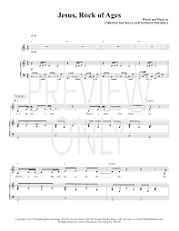 sweater weather piano sheet music jesus rock of ages lead sheet lyrics chords christy nockels