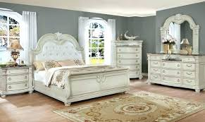 king bedroom sets with storage crown mark antique white solid wood king bedroom set classic sets