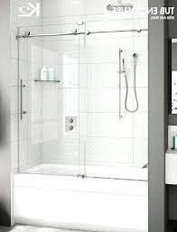 glass tub enclosures frameless interior bathtub door stylish frosted doors bathtubs the home depot with 4