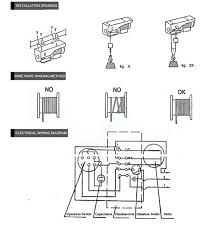 hgs b 200 small electric hoist, view Ac Hoist Wiring Diagram Brake Wiring Diagrams for Hoists