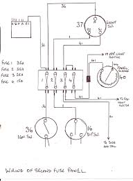 mg mga battery cut off switch mg mga mg cars net and here is the basic non relay additional fuse diagram wire colour numbers to tie in the standard 1500 wiring diagram