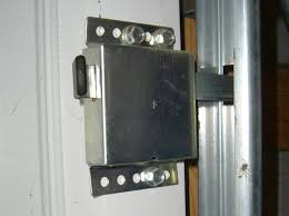 electric garage door lock. A More Secure Manual Lock Electric Garage Door C