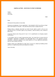 How To Confirm An Interview Reply To Interview Invitation Email Sample Template Business